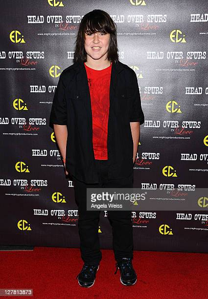 Actor Noah Dahl arrives at the world premiere of 'Head Over Spurs In Love' at Majestic Crest Theatre on March 24, 2011 in Los Angeles, California.