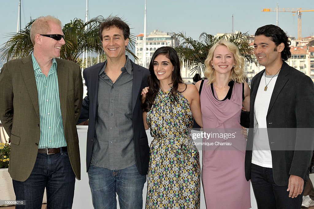 Actor Noah Emmerich, director Doug Liman, actress Liraz Charhi, actress Naomi Watts and actor Khaled Nabawy attend the 'Fair Game' Photo Call held at the Palais des Festivals during the 63rd Annual International Cannes Film Festival on May 20, 2010 in Cannes, France.