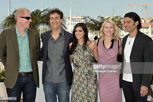 Actor Noah Emmerich director Doug Liman actress Liraz Charhi actress Naomi Watts and actor Khaled Nabawy attend the 'Fair Game' Photo Call held at...