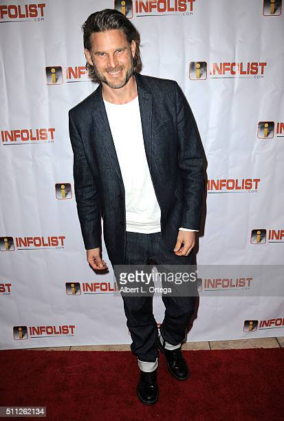 Actor Noah Huntley arrives for the InfoList PreOscar Soiree And Birthday Party for Jeff Gund held at OHM Nightclub on February 18 2016 in Hollywood...