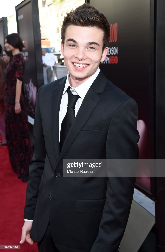 Actor Noah Matthews attends Premiere Of HBO's 'True Blood' Season 7 And Final Season at TCL Chinese Theatre on June 17, 2014 in Hollywood, California.
