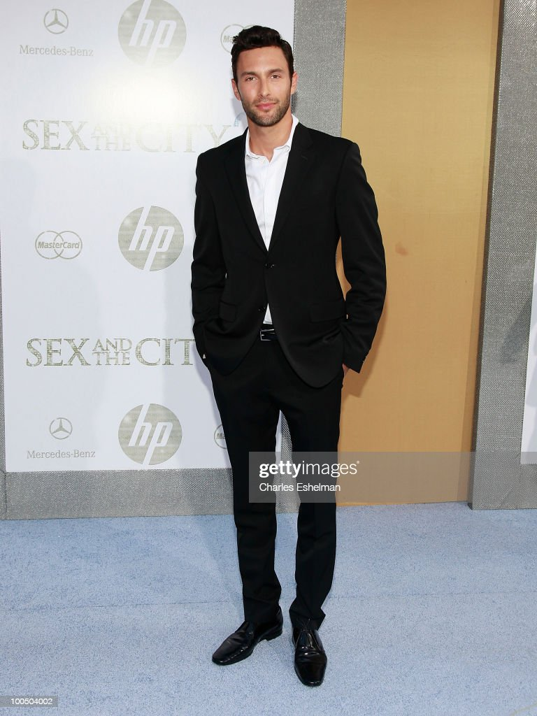 Actor Noah Mills attends the premiere of 'Sex and the City 2' at Radio City Music Hall on May 24, 2010 in New York City.