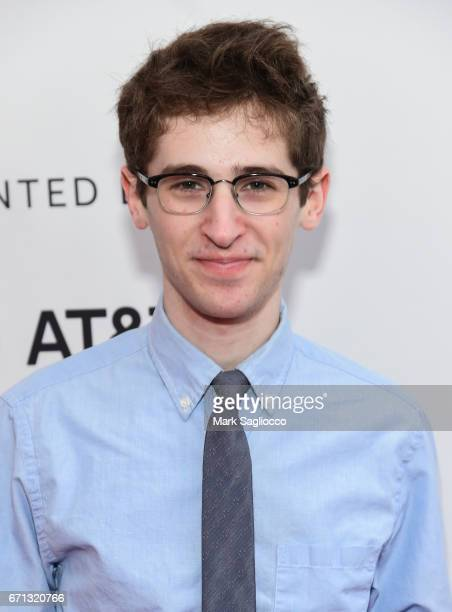 "Actor Noah Robbins attends the 2017 Tribeca Film Festival - ""Aardvark"" at SVA Theatre on April 21, 2017 in New York City."
