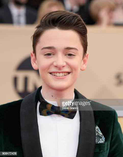 Actor Noah Schnapp attends the 24th Annual Screen ActorsGuild Awards at The Shrine Auditorium on January 21 2018 in Los Angeles California