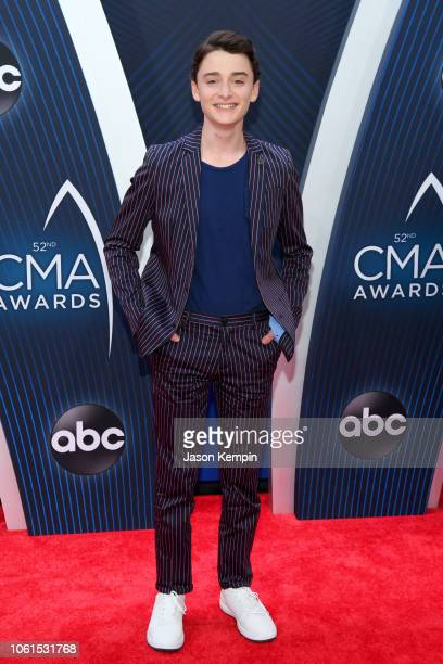Actor Noah Schnapp attends the 52nd annual CMA Awards at the Bridgestone Arena on November 14 2018 in Nashville Tennessee
