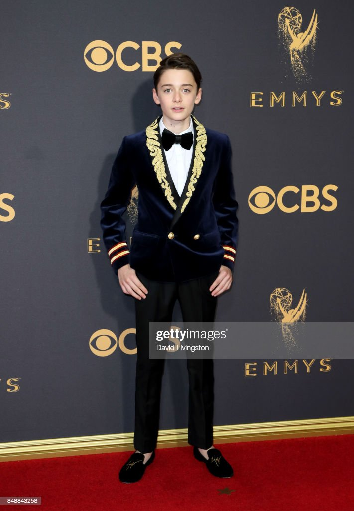Actor Noah Schnapp attends the 69th Annual Primetime Emmy Awards - Arrivals at Microsoft Theater on September 17, 2017 in Los Angeles, California.