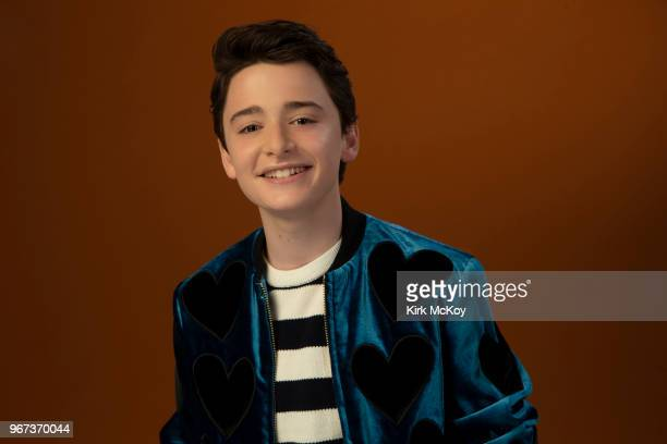Actor Noah Schnapp is photographed for Los Angeles Times on May 7 2018 in Los Angeles California PUBLISHED IMAGE CREDIT MUST READ Kirk McKoy/Los...