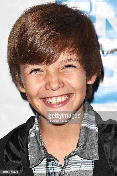 Actor Noah Urrea arrives at the End Malaria Now premiere benefit at Cafe Entourage on November 21 2011 in Hollywood California