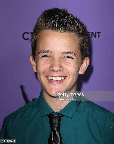 Actor Noah Urrea attends a screening of Make Your Move at Pacific Theatre at The Grove on March 31 2014 in Los Angeles California