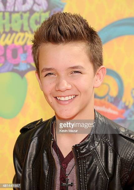 Actor Noah Urrea attends Nickelodeon's 27th Annual Kids' Choice Awards held at USC Galen Center on March 29 2014 in Los Angeles California