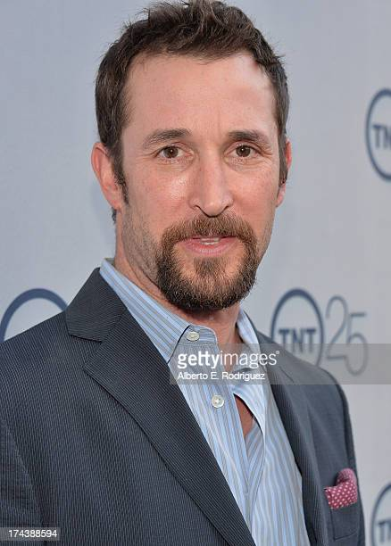 Actor Noah Wyle arrives to TNT's 25th Anniversary Party at The Beverly Hilton Hotel on July 24, 2013 in Beverly Hills, California.