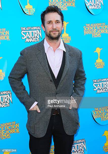 Actor Noah Wyle attends the 41st annual Saturn Awards at The Castaway on June 25, 2015 in Burbank, California.