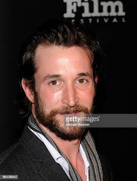 Actor Noah Wylee attends the 25th annual Santa Barbara International Film Festival opening night screening of 'Flying Lessons' at the Arlington...