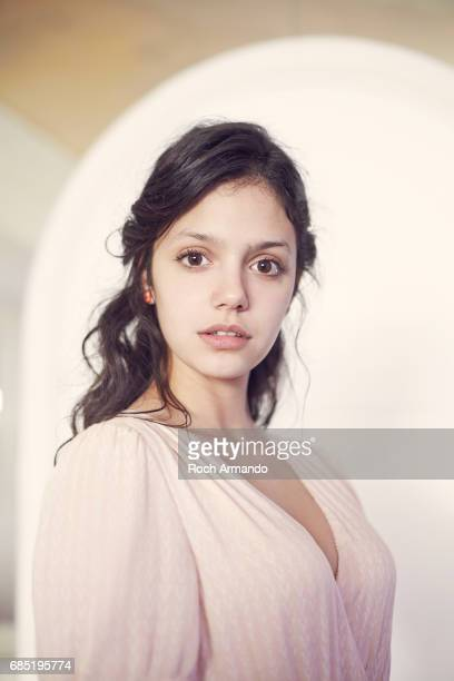 Actor Noée Abita is photographed on May 19 2017 in Cannes France