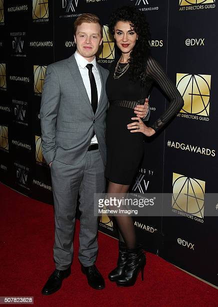Actor Noel Fisher and actress Layla Alizada arrive at the 20th Annual Art Directors Guild Excellence In Production Design Awards at The Beverly...