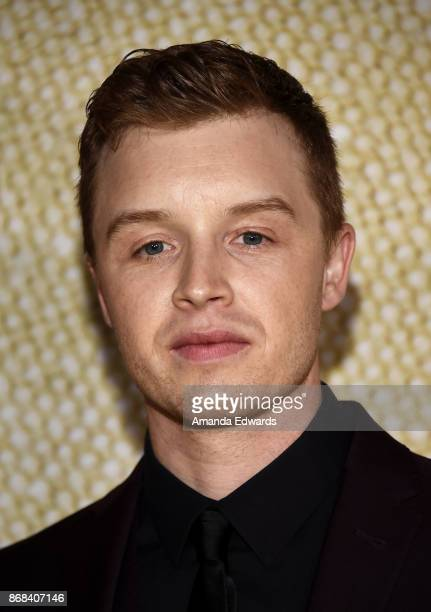 Actor Noel Fisher arrives at the premiere of National Geographic's 'The Long Road Home' at Royce Hall on October 30 2017 in Los Angeles California