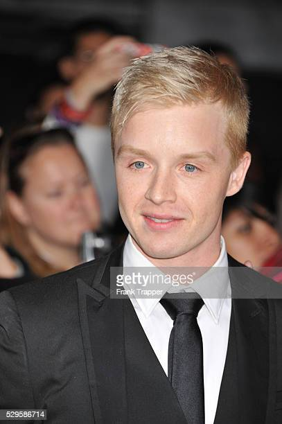 Actor Noel Fisher arrives at the premiere of The Twilight Saga Breaking Dawn Part 2 held at the the Nokia Theater at LA Live