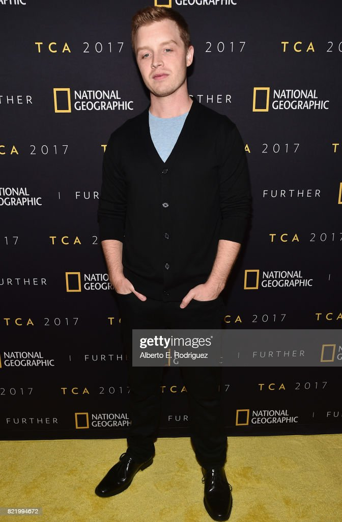 Actor Noel Fisher attends the 2017 Summer TCA Tour National Geographic Party at The Waldorf Astoria Beverly Hills on July 24, 2017 in Beverly Hills, California.