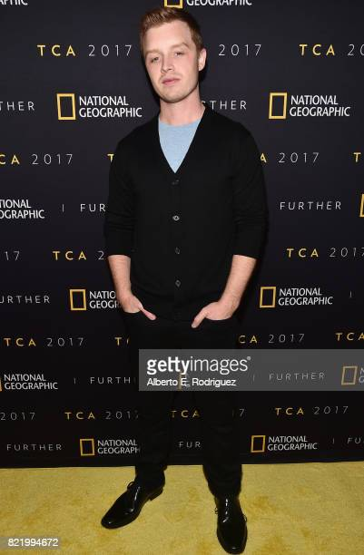 Actor Noel Fisher attends the 2017 Summer TCA Tour National Geographic Party at The Waldorf Astoria Beverly Hills on July 24 2017 in Beverly Hills...