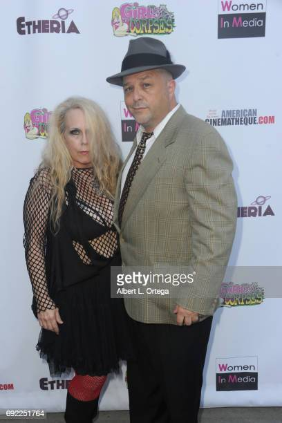 Actor Noel Jason Scott and Dawn Marlow arrive for Etheria Film Night held at The Egyptian Theatre on June 3 2017 in Los Angeles California