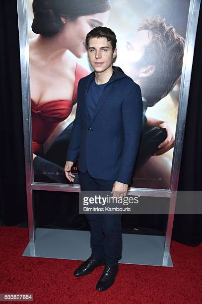 Actor Nolan Gerard Funk attends 'Me Before You' World Premiere at AMC Loews Lincoln Square 13 theater on May 23 2016 in New York City