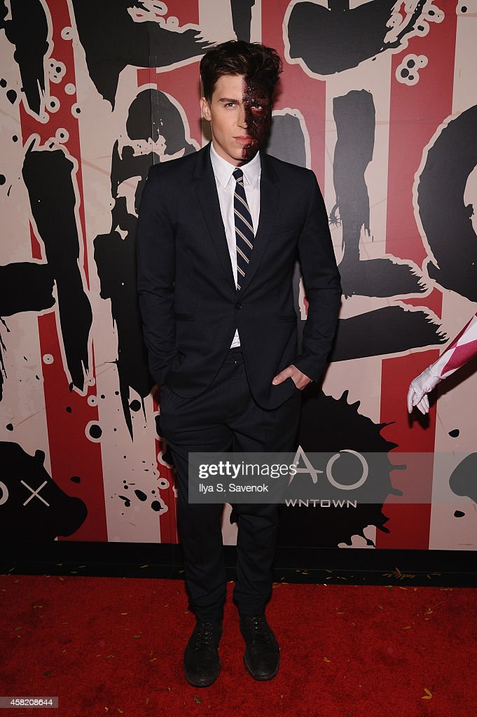 Actor Nolan Gerard Funk attends Moto X presents Heidi Klum's 15th Annual Halloween Party sponsored by SVEDKA Vodka at TAO Downtown on October 31, 2014 in New York City.