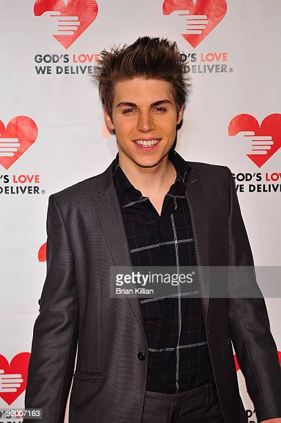 Actor Nolan Gerard Funk attends the 2009 Golden Heart awards at the IAC Building on October 19, 2009 in New York City.