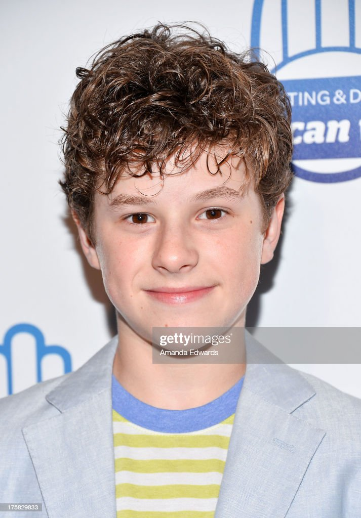 Actor Nolan Gould arrives at a special Los Angeles screening of Werner Herzog's 'From One Second To The Next' at the SilverScreen Theater at the Pacific Design Center on August 8, 2013 in West Hollywood, California.