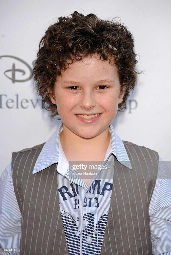 Actor Nolan Gould arrives at Disney-ABC Television Group Summer Press Tour Party at The Langham Hotel on August 8, 2009 in Pasadena, California.