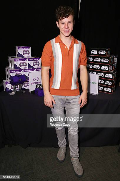 Actor Nolan Gould at Backstage Creations Retreat at Teen Choice 2016 Day 2 at The Forum on July 31 2016 in Inglewood California
