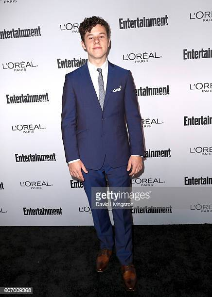 Actor Nolan Gould attends Entertainment Weekly's 2016 Pre-Emmy Party at Nightingale Plaza on September 16, 2016 in Los Angeles, California.