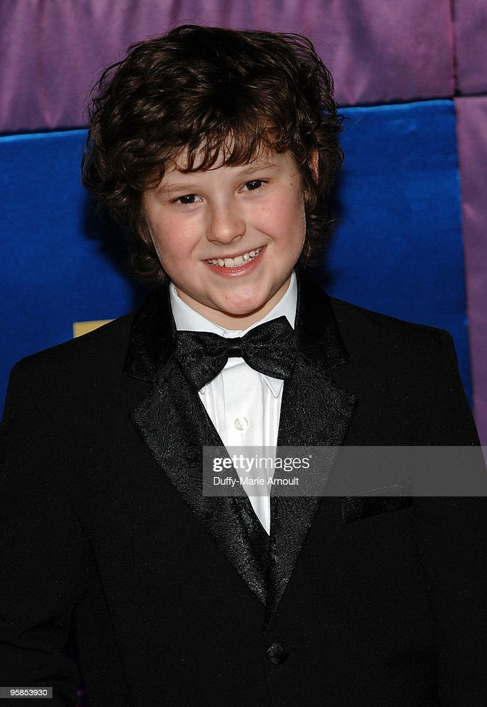 Actor Nolan Gould attends Fox's 2010 Golden Globes Awards Party at Craft on January 17, 2010 in Century City, California.