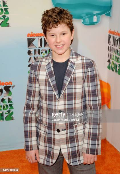 Actor Nolan Gould attends Nickelodeon's 25th Annual Kids' Choice Awards held at Galen Center on March 31 2012 in Los Angeles California