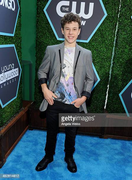 Actor Nolan Gould attends the 2014 Young Hollywood Awards brought to you by Samsung Galaxy at The Wiltern on July 27 2014 in Los Angeles California