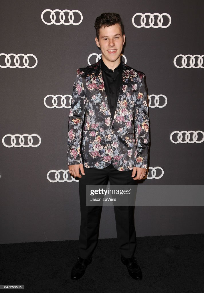 Actor Nolan Gould attends the Audi celebration for the 69th Emmys at The Highlight Room at the Dream Hollywood on September 14, 2017 in Hollywood, California.