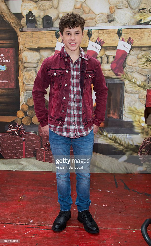 Actor Nolan Gould attends the Inaugural Old Spice Holispray Holiday Toy Donation and Exchange Benefit for Second Chance Toys at Hollywood High School on December 10, 2014 in Los Angeles, California.