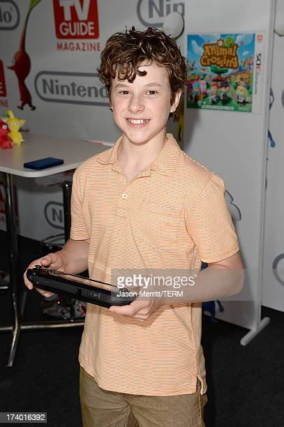 Actor Nolan Gould attends the Nintendo Oasis on the TV Guide Magazine Yacht at ComicCon day 1 on July 18 2013 in San Diego California