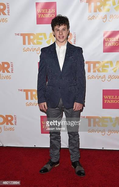 Actor Nolan Gould attends TrevorLIVE LA Honoring Robert Greenblatt Yahoo and Skylar Kergil for The Trevor Project at Hollywood Palladium on December...