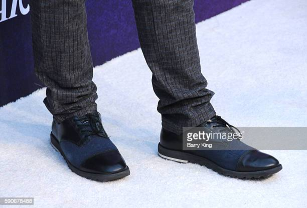 Actor Nolan Gould, shoe detail, attends Variety's Power of Young Hollywood event, presented by Pixhug, with Platinum Sponsor Vince Camuto at...