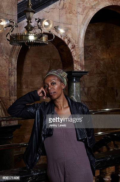 Actor Noma Dumezweni is photographed for the Telegraph on June 20 2016 in London England