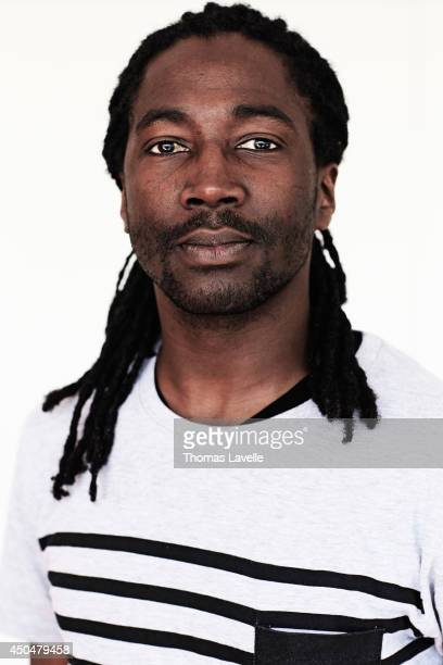Actor Noom Diawara is photographed for Self Assignment on May 20 2014 in Cannes France