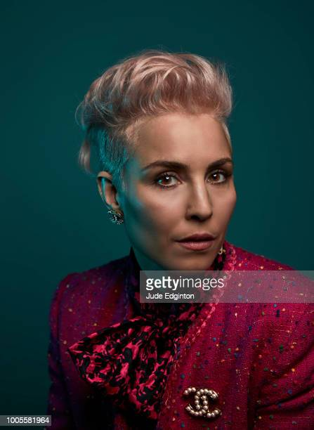 Actor Noomi Rapace is photographed for the Wall Street Journal on July 15 2017 in London England