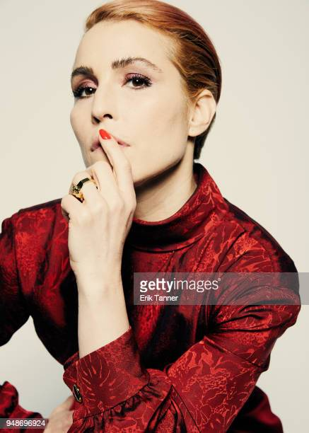 Actor Noomi Rapace of the film Stockholm poses for a portrait during the 2018 Tribeca Film Festival at Spring Studio on April 19 2018 in New York City