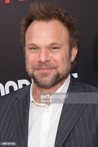 Actor Norbert Leo Butz attends the 'Bloodline' New York Series Premiere at SVA Theater on March 3 2015 in New York City