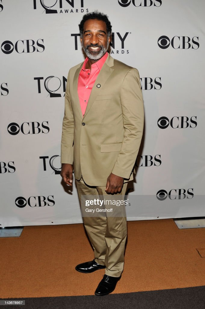 Actor Norm Lewis attends the 2012 Tony Awards - Meet The Nominees Press Reception at Millennium Broadway Hotel on May 2, 2012 in New York City.