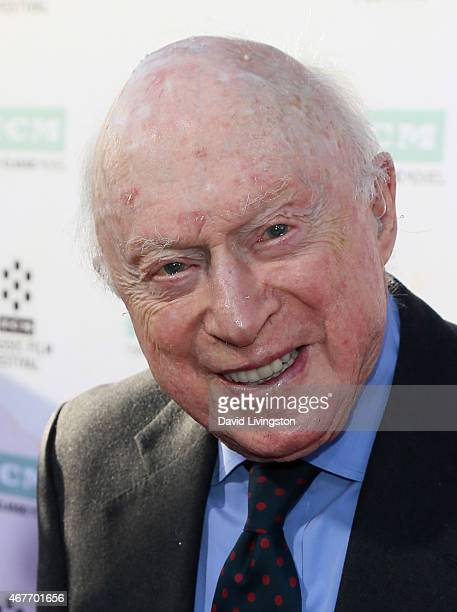 Actor Norman Lloyd attends the 2015 TCM Classic Film Festival Opening Night Gala 50th Anniversary Screening of 'The Sound of Music' at the TCL...
