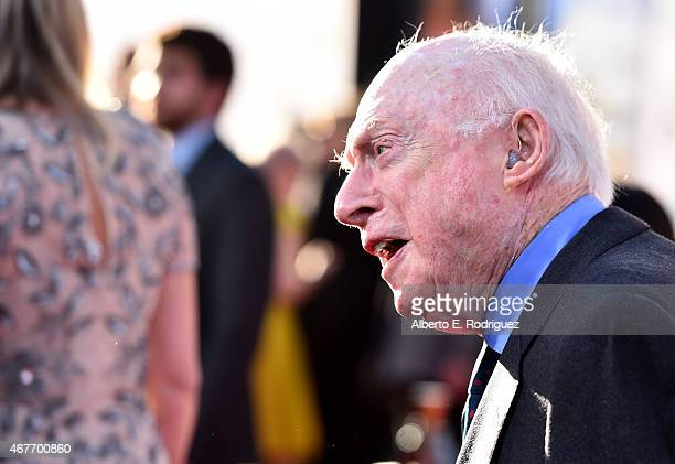 Actor Norman Lloyd attends the Opening Night Gala and screening of The Sound of Music during the 2015 TCM Classic Film Festival on March 26 2015 in...