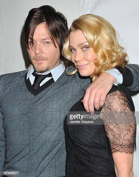 Actor Norman Reedus and Actress Laurie Holden attend the 30th Annual PaleyFest The William S Paley Television Festival honors 'The Walking Dead' held...