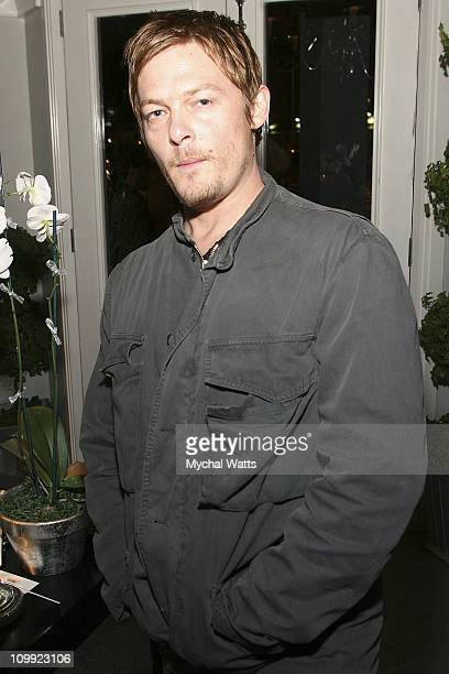 Actor Norman Reedus attends Gotham Awards Cocktail Reception at the Charles Nolan Store on November 6 2007 in New York City New York