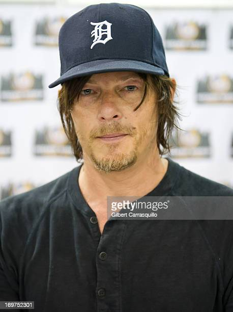 Actor Norman Reedus attends Philadelphia Comic Con 2013 Day 2 at the Pennsylvania Convention Center on May 31 2013 in Philadelphia Pennsylvania